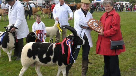 Tori Stanley and Ann Evans at last year's Derbyshire County Show Photo: Ruth Downing