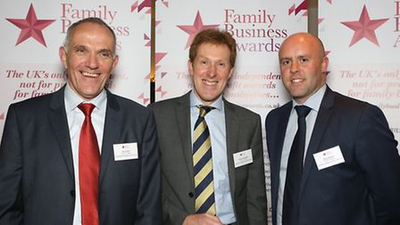 Paul Duffin, John Farnsworth and David Nelson from Smith Cooper, Derby