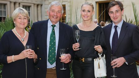Diana, John, Grace and Sam Horrell , title sponsors of the event
