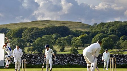 Village cricket Photo: Brian Ross