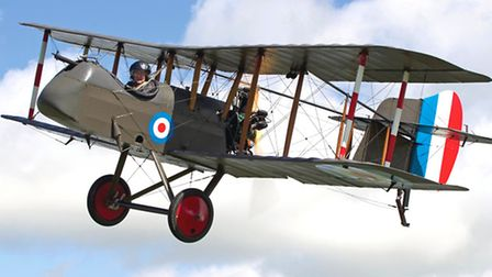 Bill Nixon had many hours experience on the Airco DH2 pusher fighter, depicted here in this modern replica (Photo...