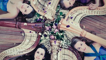 '4 Girls, 4 Harps'