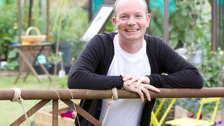 Jonathan Moseley in the Big Allotment Challenge (Photo: BBC Pictures)