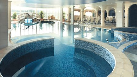 The tranquil pool at Eden Hall