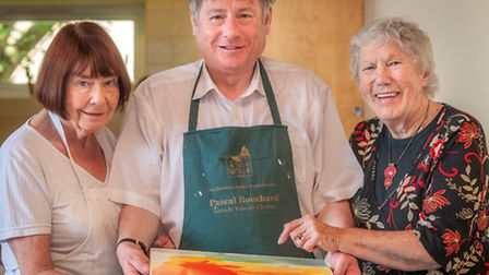 Joyce and Tony Renner with Doreen Andrews
