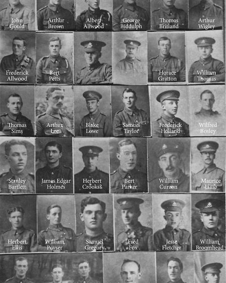 The Crich project to name soldiers from Lea Mills