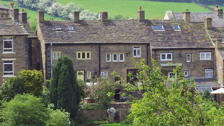 Character cottages in Hayfield