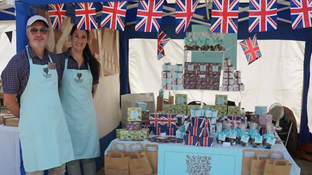 Georgina Chappell and Guy Middleton of Holdsworth Chocolates