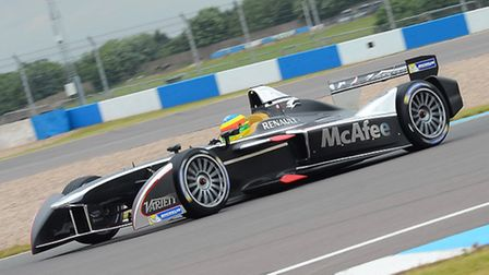 Former British F3 champion Mike Conway, now a big name in the US, races for Dragon Racing