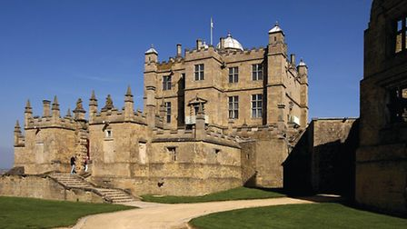 Tthe Little Castle forecourt at Bolsover Castle Photo: Peter Richardson/English Heritage