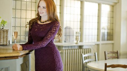 Purple is one of this season's most popular colours. This feminine Renee dress is from Lily & Me, a range stocked at...