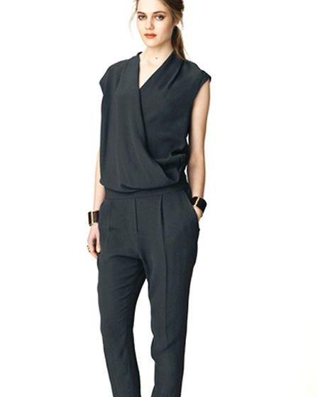 Jumpsuits are one of this season's hottest trends and this striking design from Malene Birger is stocked at Young Ideas...
