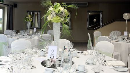 Guests enjoyed lunch in opulent surroundings, guaranteed to delight any bride and groom