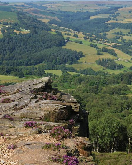 View from Millstone Edge