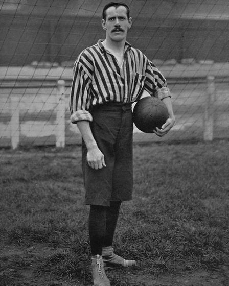 Ripley-born Harry Storer (1870-1908) one of countless 'characters' to play for Derby Midland FC. He also played cricket...
