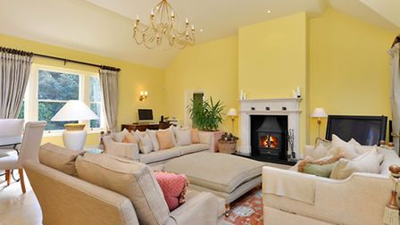 Sitting room at Mooresfold
