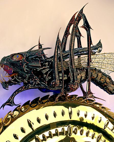The Grasshopper Escapement on the Chronophage