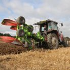 The ploughing competition in full flow