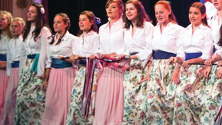 Cornish maidens in the Pirates of Penzance