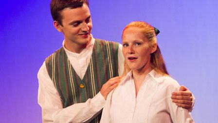 Schay Wickham as Frederick and Ellie Taylor as Mabel