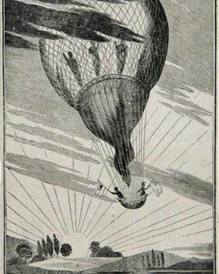 William Windham Sadler waves from on high. On 28 October 1823 he became the first person to get a true bird's-eye view of...