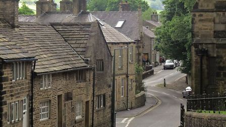Old Glossop by Sally Mosley
