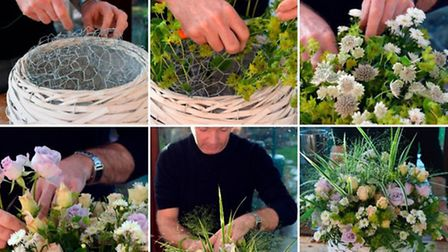 Floral basket - try Jonathan's step-by-step guide