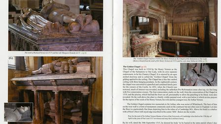 St Bartholomew's Church, Tong, guidebook. Photographs: RJL Smith