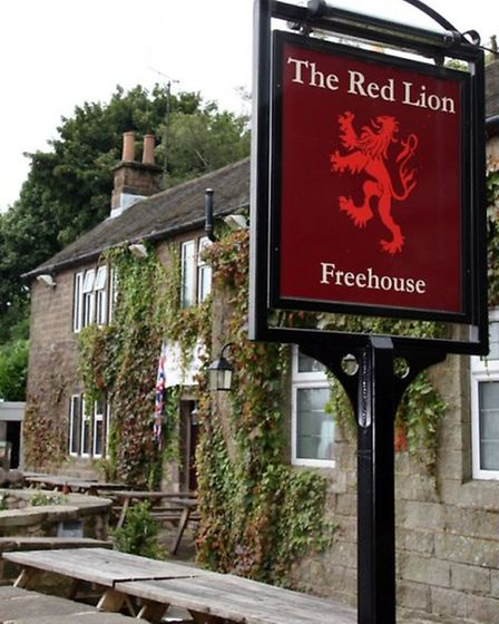 The Red Lion, Birchover.
