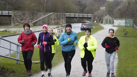 Out for a jog in the High Peak Photo: Meg Hodson Photography