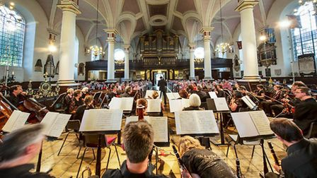 Sinfonia Viva in concert in Derby Cathedral Photo: Graham Whitmore