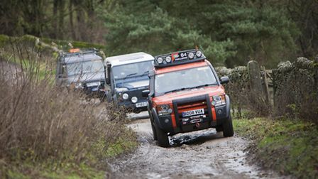 The Peak 4x4 Response Team in action Photo: GR Photography