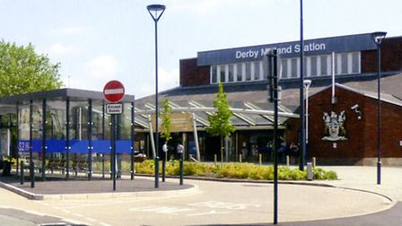 Then and Now: Railway Terrace, Derby Midland Station