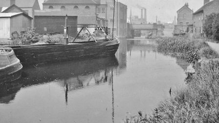Completely unrecognisable 'then and now' photos: Cockpit Hill Canal Basin Photograph by Margaret Goodey, 1930 (Mrs P Cannon)