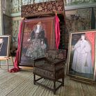The portraits of Elizabeth I, Bess of Hardwick and Arbella on display in the State Room at Hardwick Photo: Richard Aspinall/...