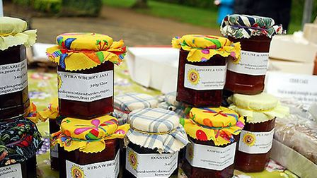 Jams from Country Kitchen and Crafts at Matlock Market