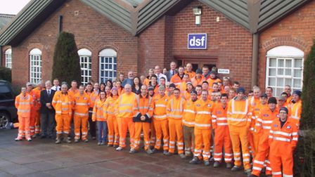 The team at DSF