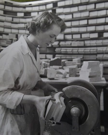 Friden past: cutting samples for testing