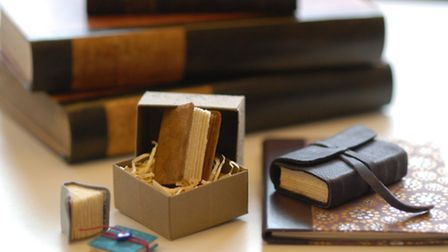 Small but perfectly formed... books bound at Scrivener's