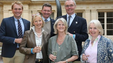 Andrew Fletcher, Jane Tolley, Andrew Bennie, Rachel Cooper, Tim Downes and Cherry Elvin