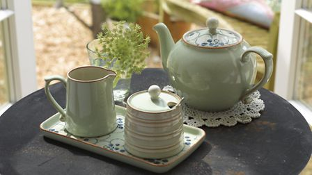Afternoon Tea with 'Orchard' from Denby's Heritage Collection