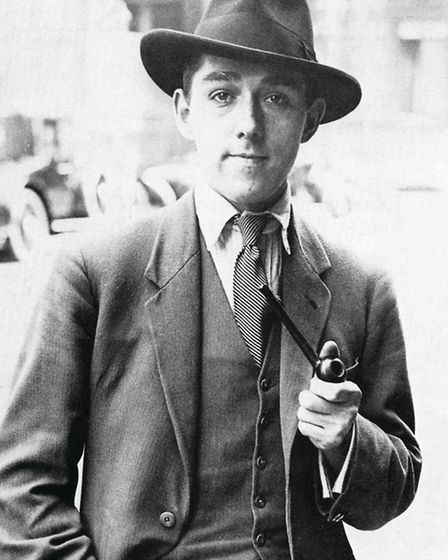 The 'Heanor artist' George Bissill in 1926 soon after his breakthrough in the art world