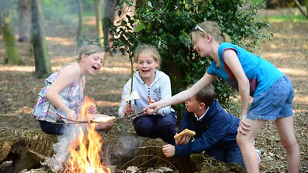 Pupils enjoying the great outdoors at Foremarke