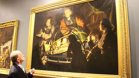 John Stobart examines Joseph Wright's 'Philosopher giving that Lecture on an Orrery', that so inspired him as a young...