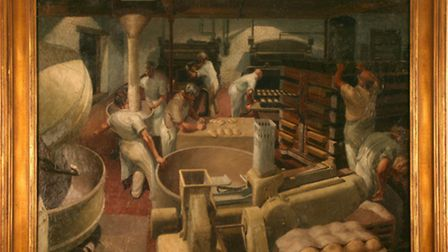The Bakery, 1950. This bakery was just at the junction of Green Lane and Burton Road in Derby and was painted for a...
