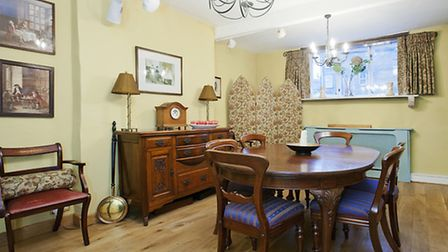 The Dining Room was once a butcher's shop and features a solid marble windowsill that was originally the shop counter...