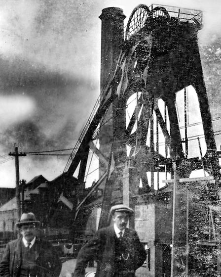 Pleasley Pit in the 1930s