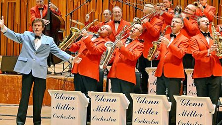 The Glenn Miller Orchestra, performing at Nottingham Royal Concert Hall on 13th December at 3pm. Box Office: 0115 989 5555