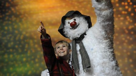 The Snowman, appearing at Nottingham's Theatre Royal Photo: Alastair Muir