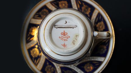 Royal Crown Derby pieces bearing the Zeppelin mark